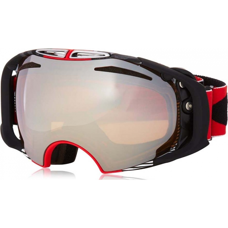 33adba67ae Oakley Airbrake Shaun White Signature Red - Black Iridium Ski Goggles 59-671