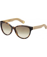 Marc Jacobs Ladies MJ 465-S BVX S8 Tortoiseshell Sunglasses