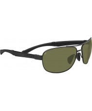 Serengeti Norcia Black Polarized 555nm Sunglasses