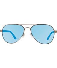 Revo RE1011 Raconteur Gunmetal - Blue Water Polarized Sunglasses