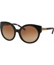 Michael Kors MK2019 55 Adelaide I Black Purple Tortoise 315313 Sunglasses