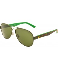 Polo Ralph Lauren PH3096 63 Casual Living Camo Green 900571 Sunglasses