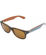 RayBan RB2132 55 New Wayfarer Matte Tortoiseshell 6179 Sunglasses