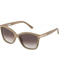 WeWOOD Phoebe Oak J8497 Brown Gradient Sunglasses