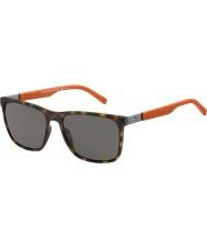 Tommy Hilfiger Mens TH 1445-S L9G 8H Havana Orange Sunglasses