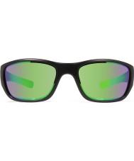 Revo RE4058 Heading Matte Black - Green Water Polarized Sunglasses