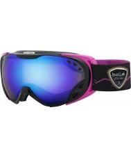 Bolle 21461 Duchess Black and Pink - Aurora Ski Goggles