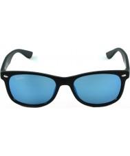 RayBan Junior RJ9052S 47 New Wayfarer Matte Black 100S55 Sunglasses