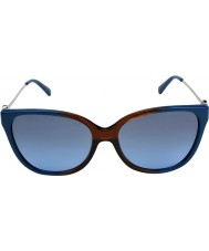 Michael Kors MK6006 57 Marrakesh Brown Blue Ombre 300717 Sunglasses