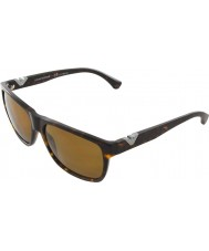 Emporio Armani EA4035 58 Modern Dark Havana 502683 Polarized Sunglasses