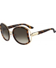 Salvatore Ferragamo Ladies SF719S Dark Tortoiseshell Sunglasses