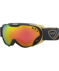 Bolle 21462 Duchess Black and Gold - Rose Gold Ski Goggles