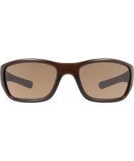 Revo RE4058 Heading Matte Brown - Terra Polarized Sunglasses