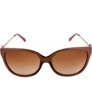 Michael Kors MK6006 57 Marrakesh Brown Rio Coral Ombre 300813 Sunglasses
