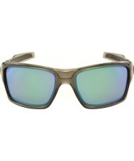 Oakley OO9263-09 Turbine Grey Smoke - Jade Iridium Polarized Sunglasses
