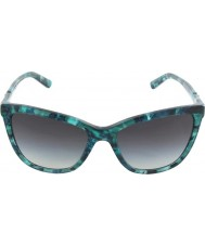 Dolce and Gabbana DG4193M 56 Iconic Logo Green Marble 29118G1 Sunglasses
