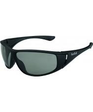 Bolle Highwood Matt Black Modulator Polarized Grey Sunglasses