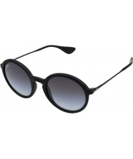 RayBan RB4222 50 Youngster Black Rubber 622-8G Sunglasses