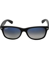 RayBan RB2132 55 New Wayfarer Matte Black 601S78 Polarized Sunglasses