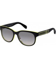 Marc by Marc Jacobs Ladies MMJ 325-S DLG EU Black Yellow Sunglasses