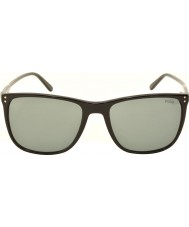 Polo Ralph Lauren PH4102 55 Classic Flair Shiny Black 500187 Sunglasses