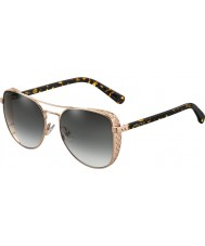 Jimmy Choo Ladies SHEENA S DDB 9O 58 Sunglasses