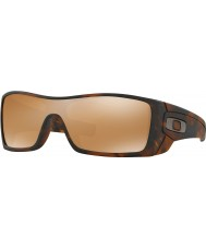 Oakley OO9101-53 Batwolf Matte Brown Tortoiseshell - Tungsten Iridium Sunglasses