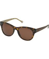 Zegna Mens SZ3657-722 Dark Tortoiseshell Sunglasses