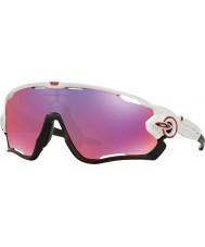 Oakley OO9290-05 Jawbreaker Polished White - Prizm Road Sunglasses