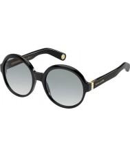 Marc Jacobs Ladies MJ 463-S 807 VK Black Sunglasses