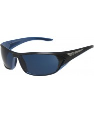 Bolle Blacktail Shiny Black Blue Polarized Offshore Blue Sunglasses