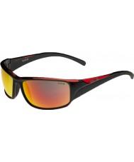 Bolle Keelback Shiny Black Red Polarized TNS Fire Sunglasses