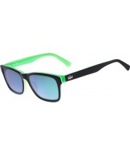 Lacoste L683S Black Green Sunglasses