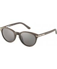 WeWOOD Xipe Dark Brown 30000 Green Sunglasses