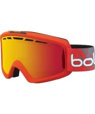 Bolle 21469 Nova II Matte Red Gradient - Fire Orange Ski Goggles