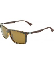 RayBan RB4228 58 Active Lifestyle Light Havana 710-83 Polarized Sunglasses
