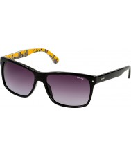 Police Mens Skyline 1 S1860-700 Shiny Black Sunglasses