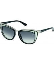 Swarovski Ladies Black-Silver SK0061 Diva Sunglasses