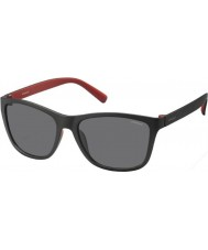 Polaroid Mens PLD3011-S LLQ Y2 Black Red Polarized Sunglasses