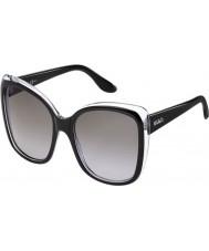 Max and Co Ladies 166-S TOU EU Black Crystal Sunglasses