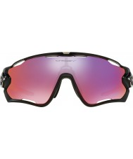Oakley OO9290-08 Jawbreaker Black Ink - Red Iridium Polarized Sunglasses