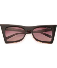 Wildfox Ladies Ivy Black Tortoiseshell Sunglasses