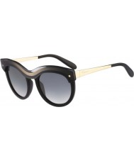 Salvatore Ferragamo Ladies SF774S Black Gradient Sunglasses