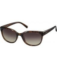 Polaroid Ladies PLD4030-S Q3V LA Dark Havana Polarized Sunglasses