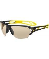 Cebe S-Track Large Shiny Black Sunglasses