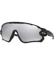 Oakley OO9290-19 Jawbreaker Polished Black - Chrome Iridium Vented Sunglasses