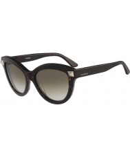 Valentino Ladies V695S Dark Havana Sunglasses