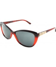 Versace VE4264B 57 Rock Icons Dark Red 507587 Sunglasses