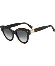 Fendi Ladies FF0266 S 86 9O 52 Peekaboo Sunglasses