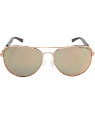 Michael Kors MK1003 58 Fiji Rose Gold 1003R5 Sunglasses
